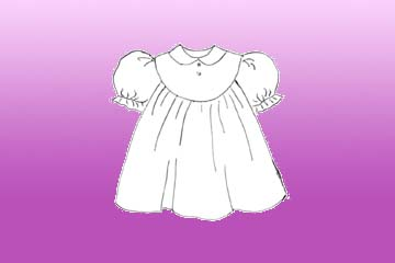 babies honeysuckle dress